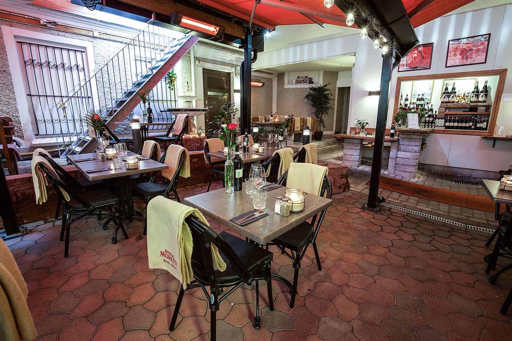 Mysig italiensk restaurang Göteborg