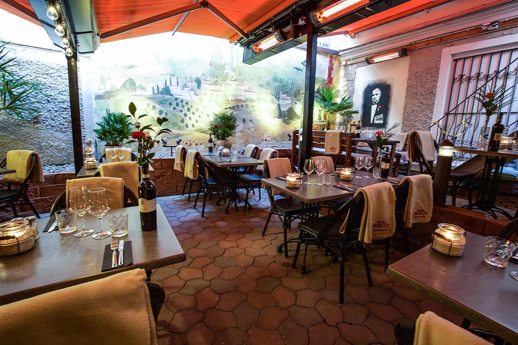 Mysig italiensk restaurang